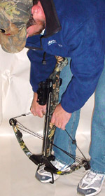manual crossbow cocking