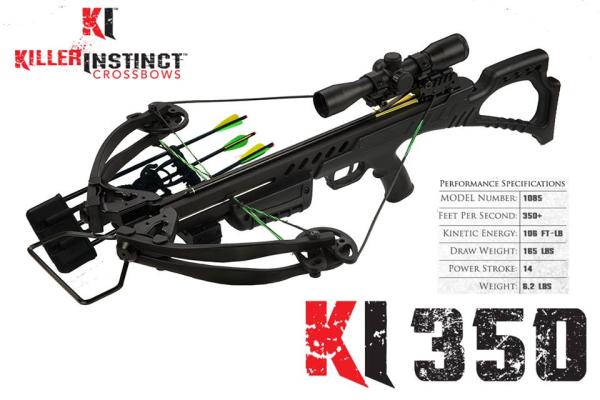 Killer Instinct 350 Review Compound Crossbow
